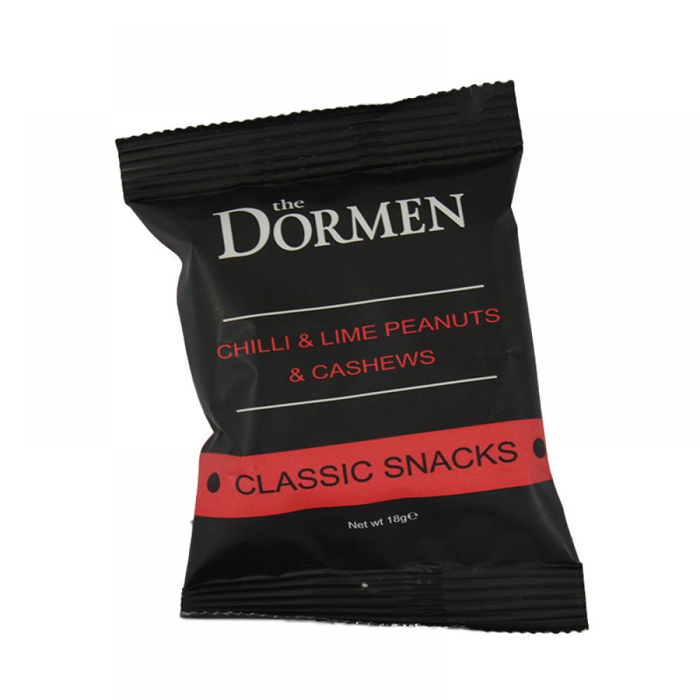 The Dormen Chilli and Lime Peanuts and Cashews 18g