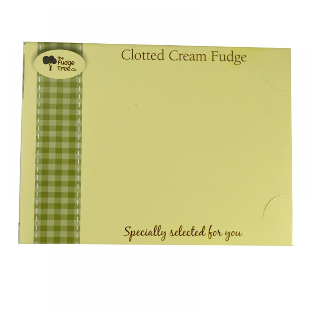 The Fudge Tree Company Clotted Cream Fudge 300g
