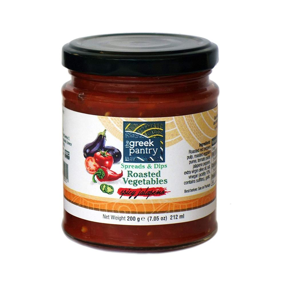 The Greek Pantry Spreads and Dips Roasted Vegetables 200g