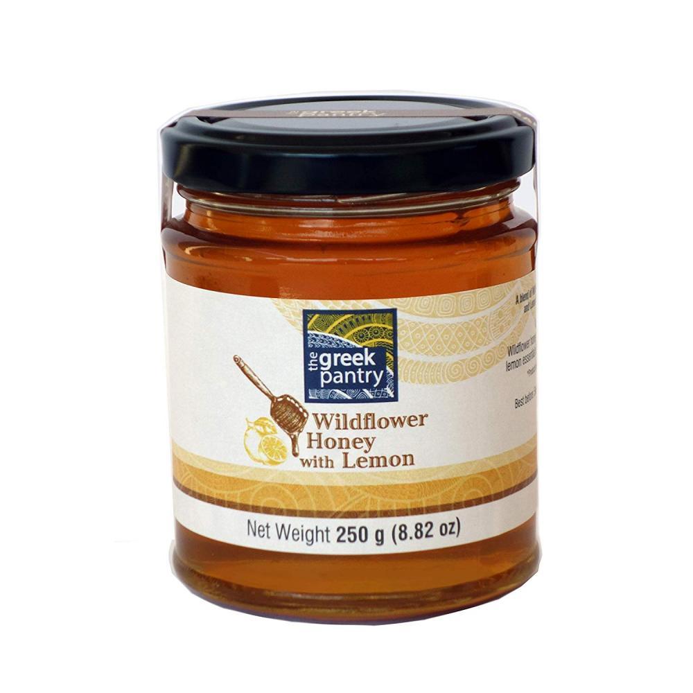 The Greek Pantry Wildflower Honey with Lemon 250g