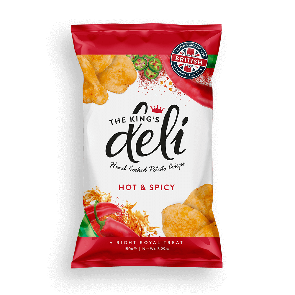 The Kings Deli Hot and Spicy 150g