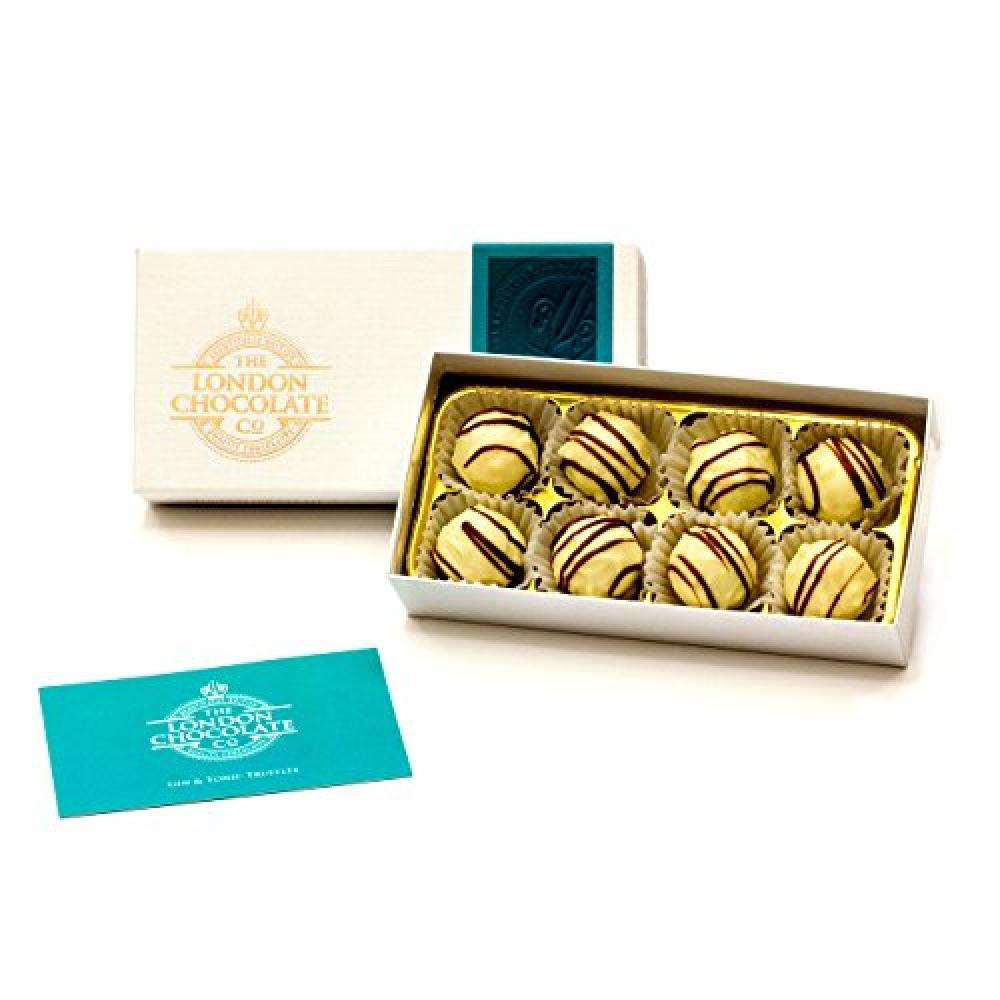 The London Chocolate Co Gin and Tonic Truffles 110g
