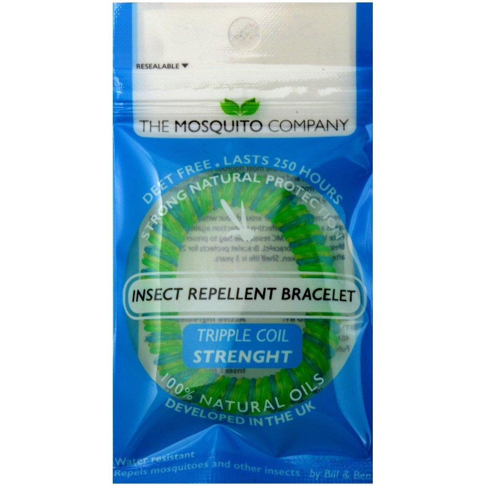 The Mosquito Company Insect Repellent Bracelet Various Colours