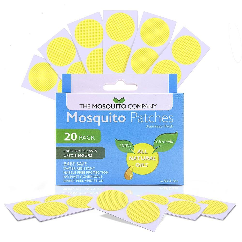The Mosquito Company Mosquito Repellent Patches 20 pack