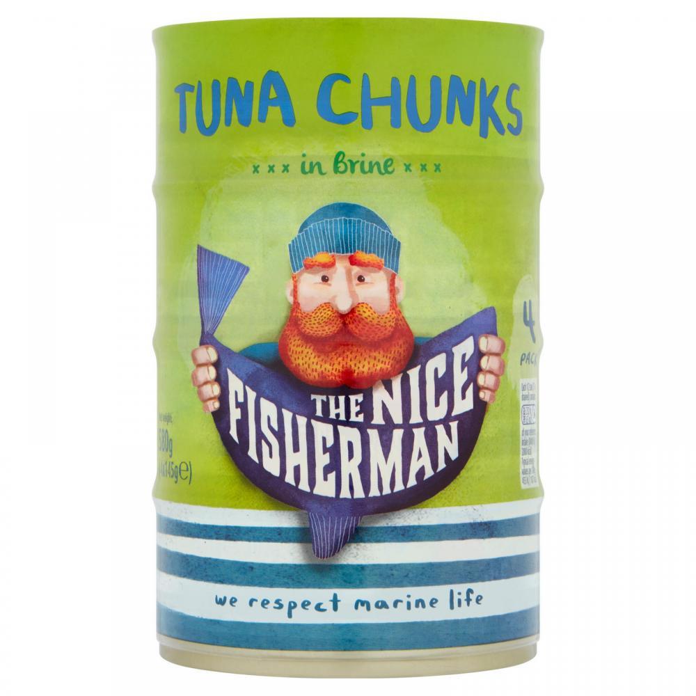The Nice Fisherman Tuna Chunks In Brine 4 x 145g