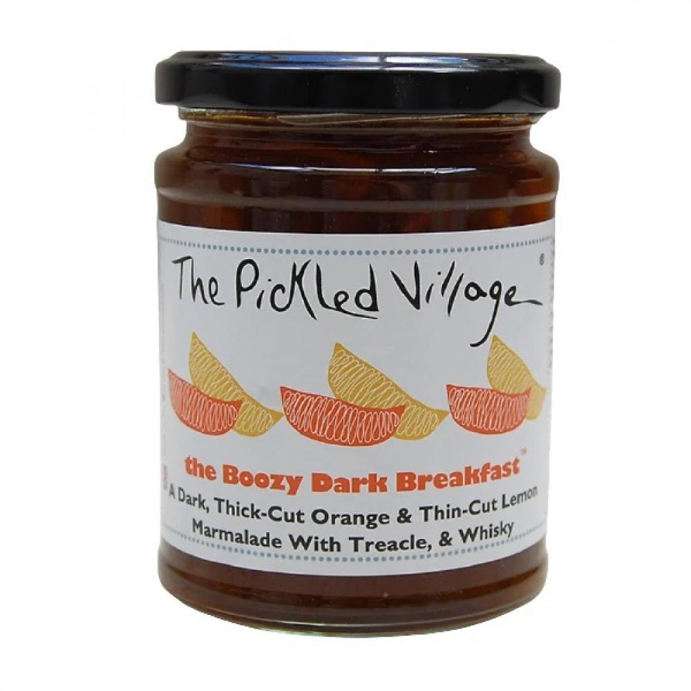 The Pickled Village The Boozy Dark Breakfast Marmalade 114g