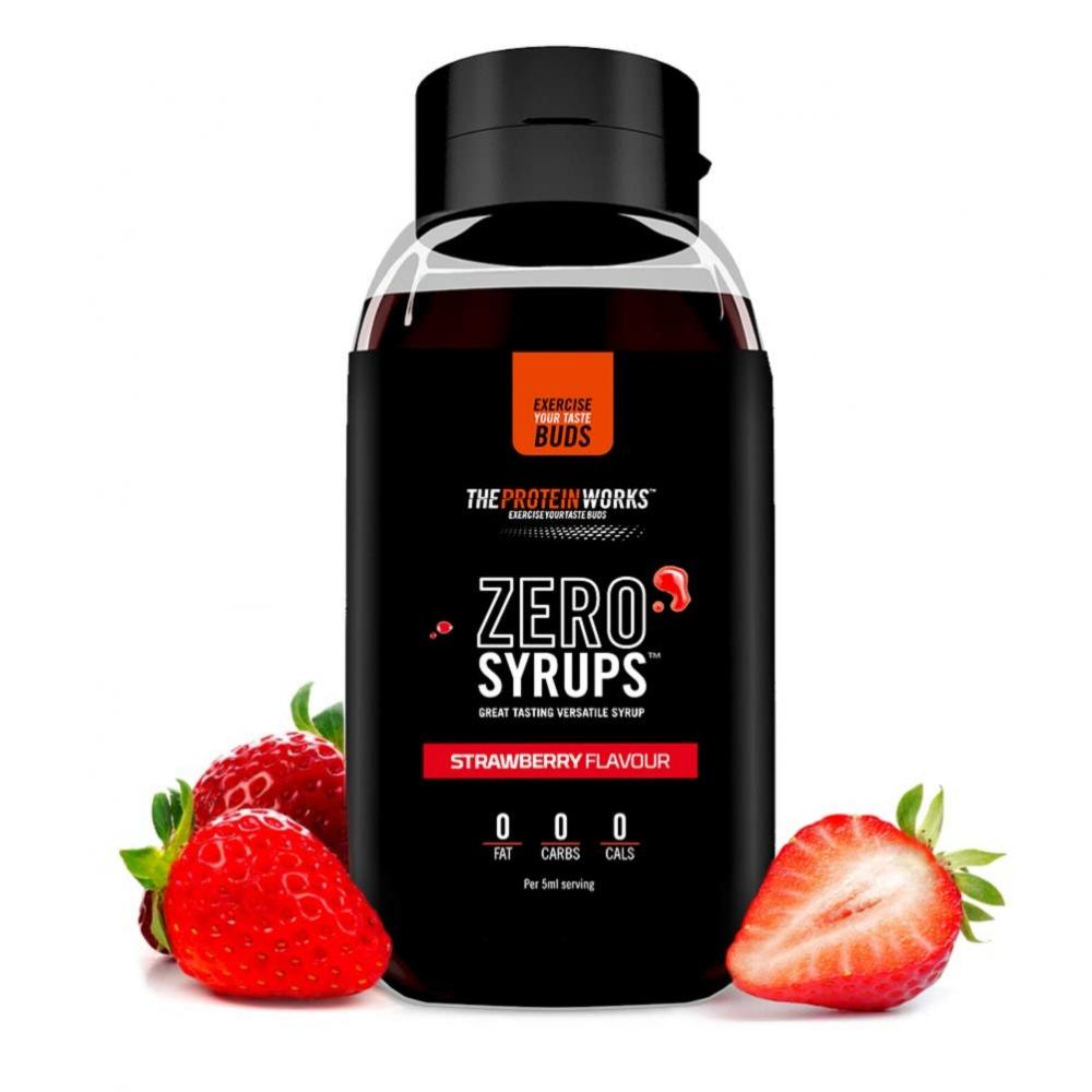The Protein Works Zero Calorie Syrup Strawberry 600ml