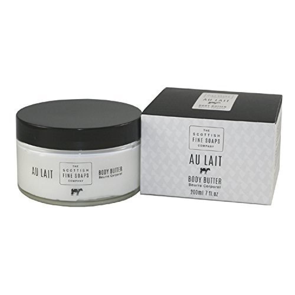 The Scottish Fine Soaps Company Au Lait Body Butter 200ml
