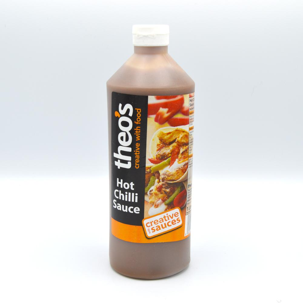 Theos Hot Chilli Sauce 1L