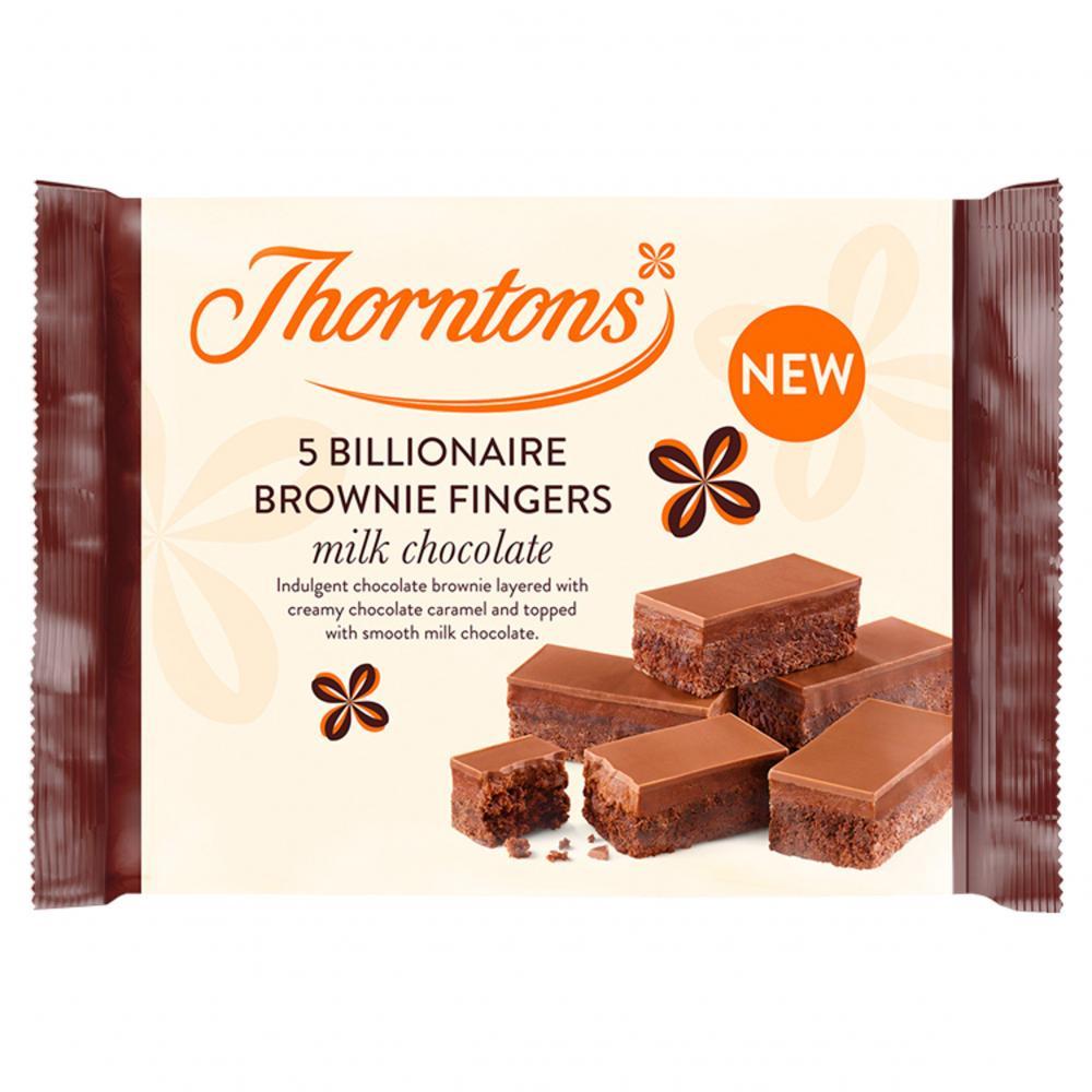 Thorntons 5 Billionaire Brownie Fingers