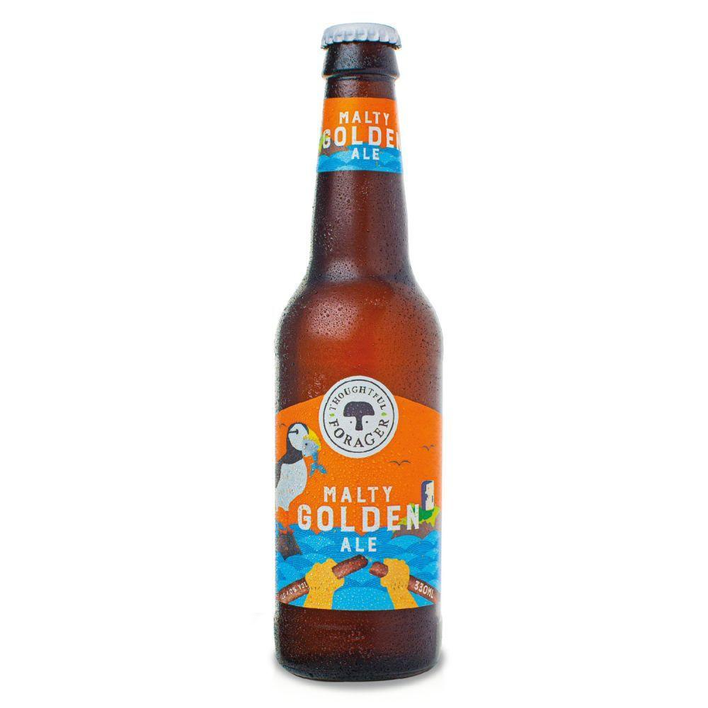 Thoughtful Forager Malty Golden Ale 330ml