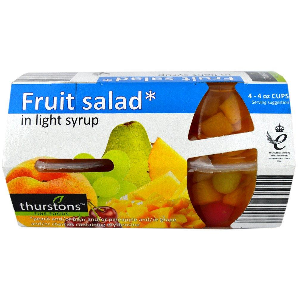 Thurstons Fruit Salad in Light Syrup 120g x 4