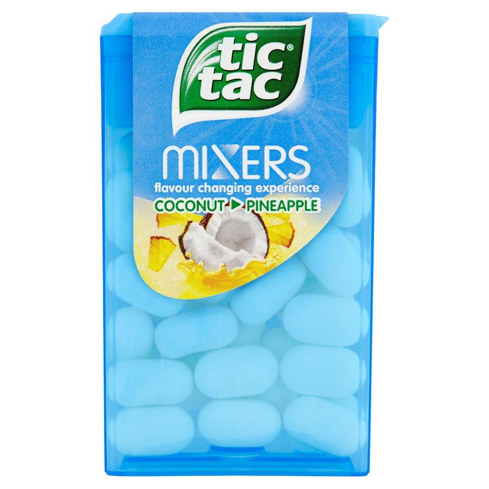 Tic Tac Mixers Coconut and Pineapple 18g