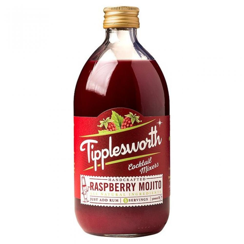 Tipplesworth Raspberry Mojito Cocktail Mixer 500ml