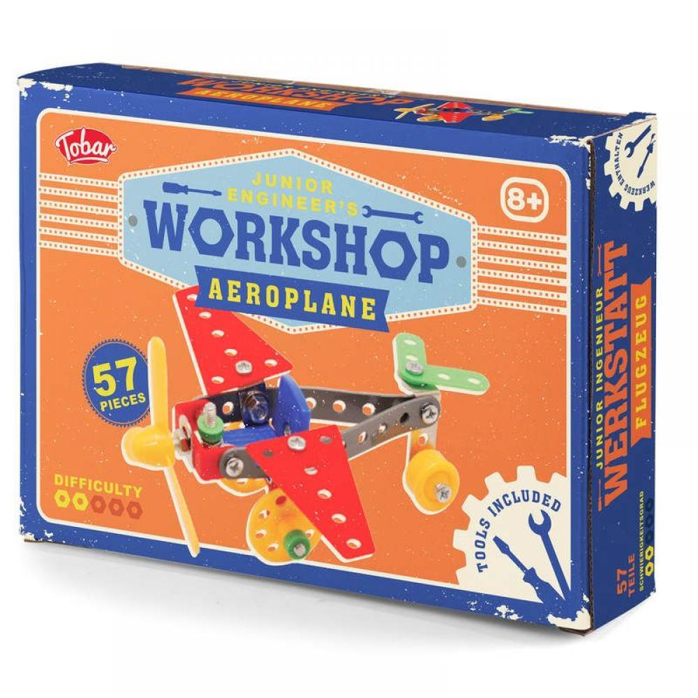 GIFT PARCEL  Tobar Junior Engineers Workshop Areoplane