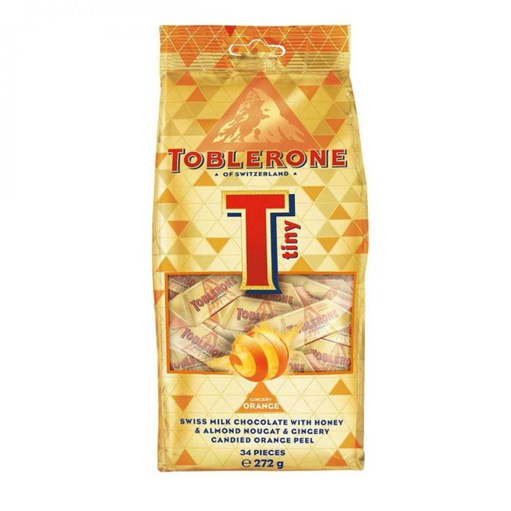 Toblerone Gingery Orange Minis 34 Pieces