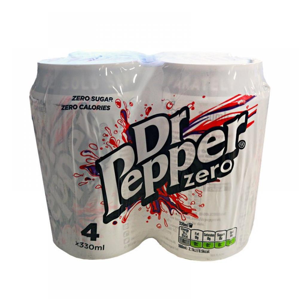 Dr Pepper Zero 4 x 330ml