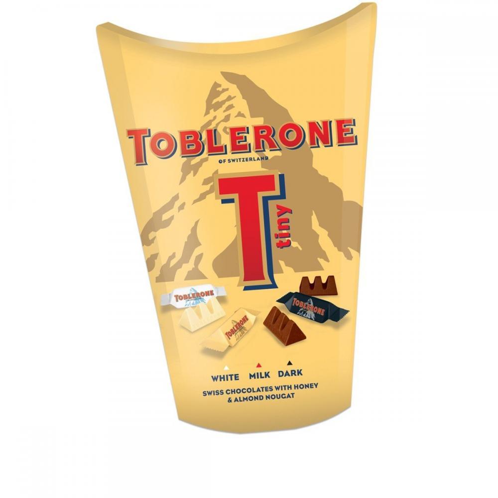 TODAY ONLY  Toblerone Tiny Mixed Carton 160g