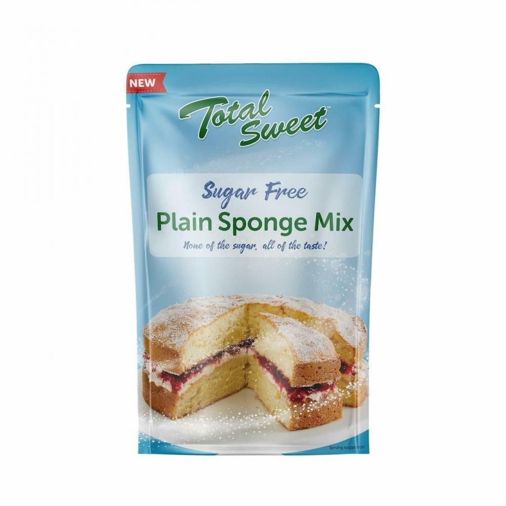 Total Sweet Plain Sponge Mix Sugar Free 300g