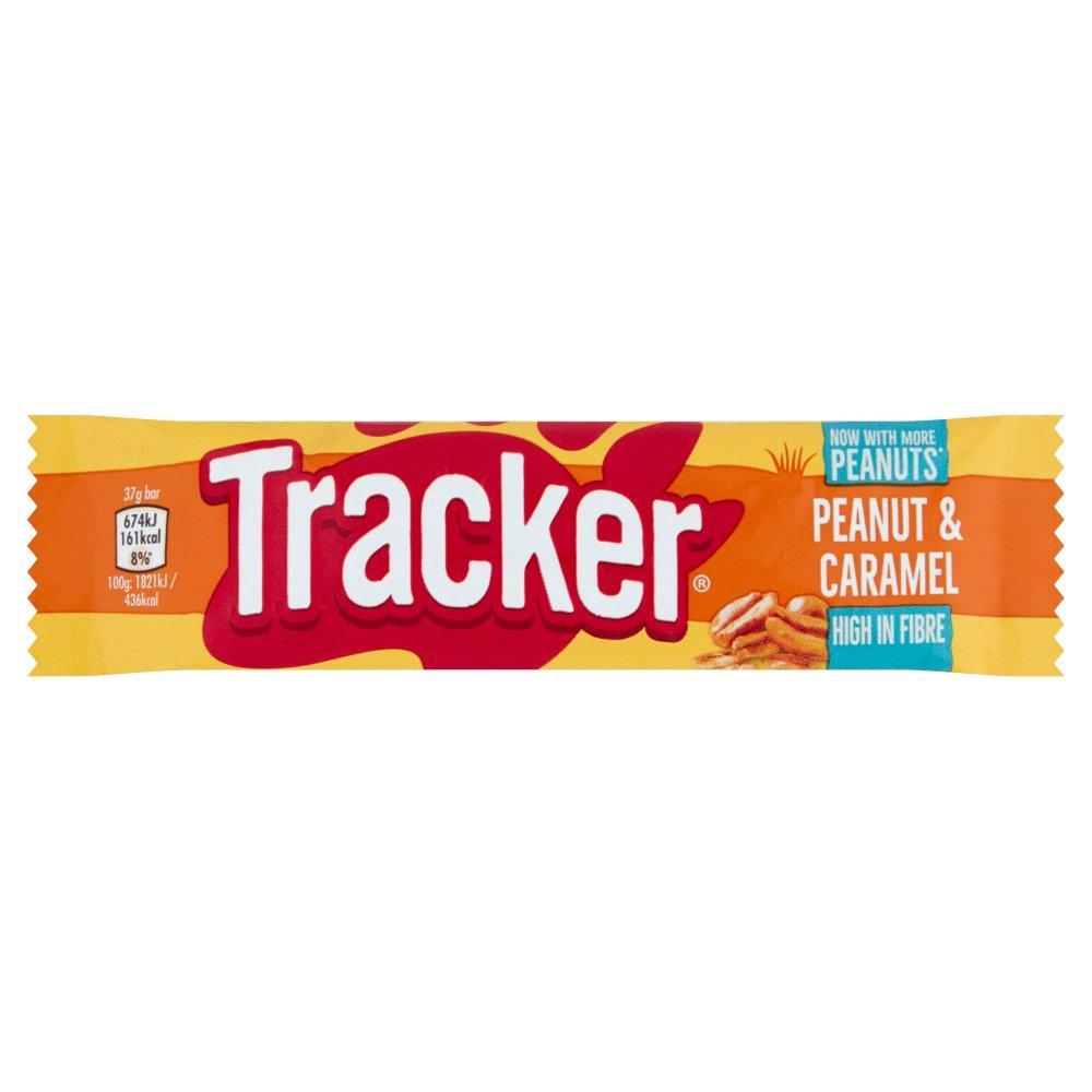 Tracker Peanut and Caramel Bar 37g