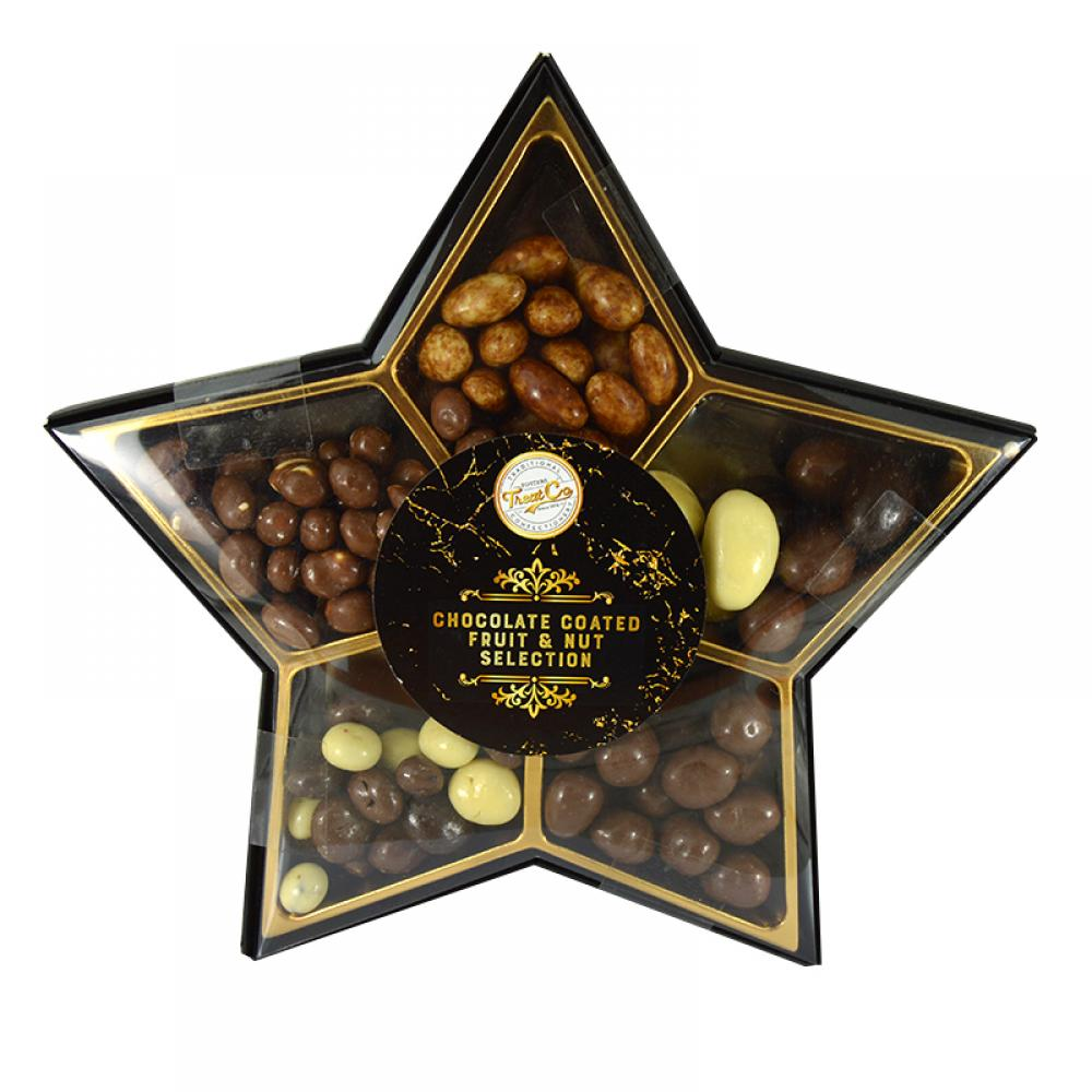 Treat Co Chocolate Coated Fruit and Nut Selection 400g