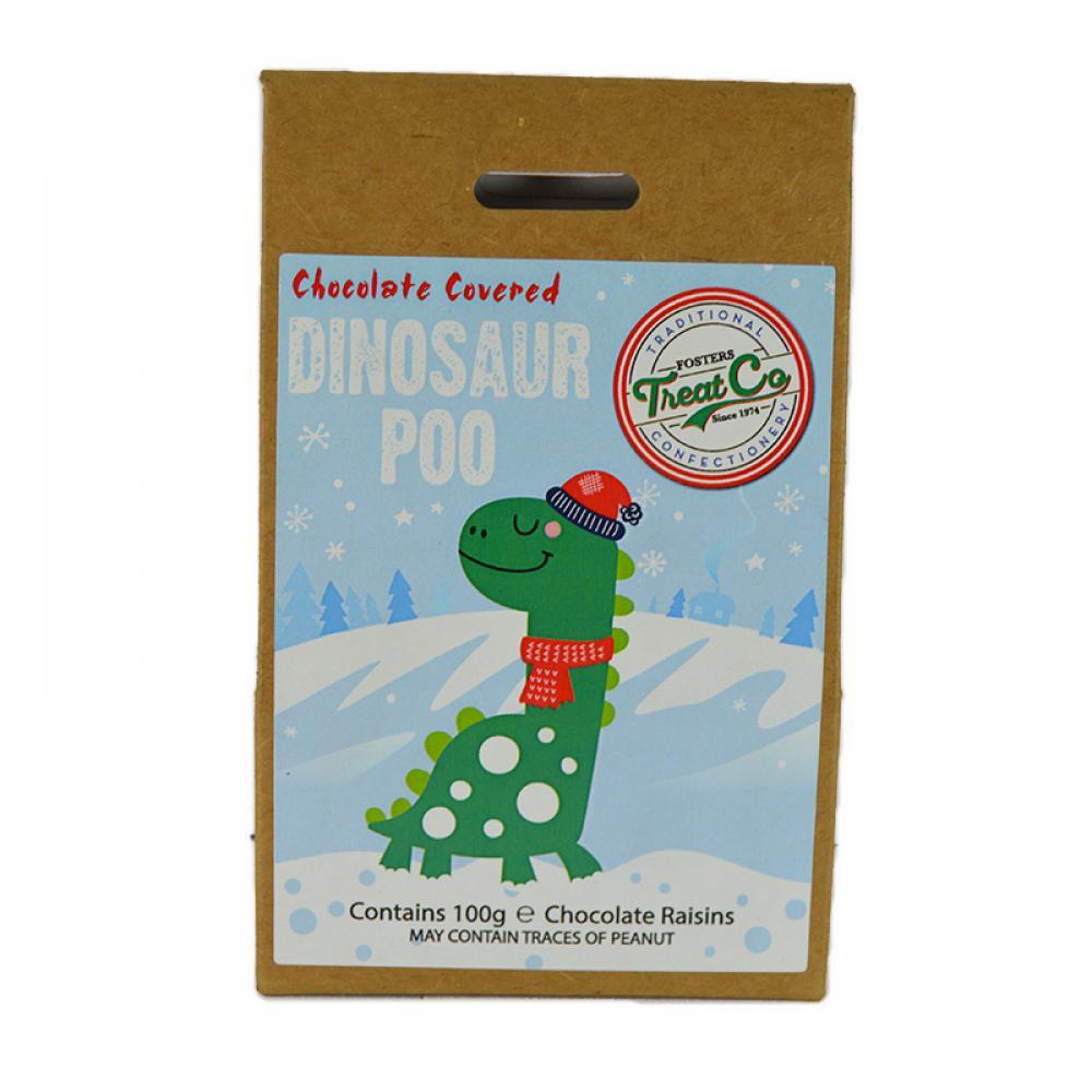 Treat Co Chocolate Covered Dinosaur Poo 100g