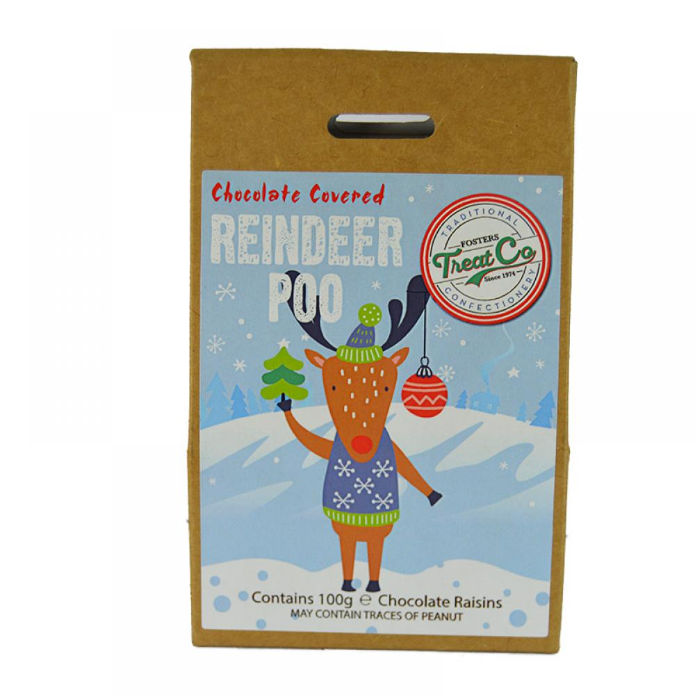 Treat Co Chocolate Covered Reindeer Poo 100g