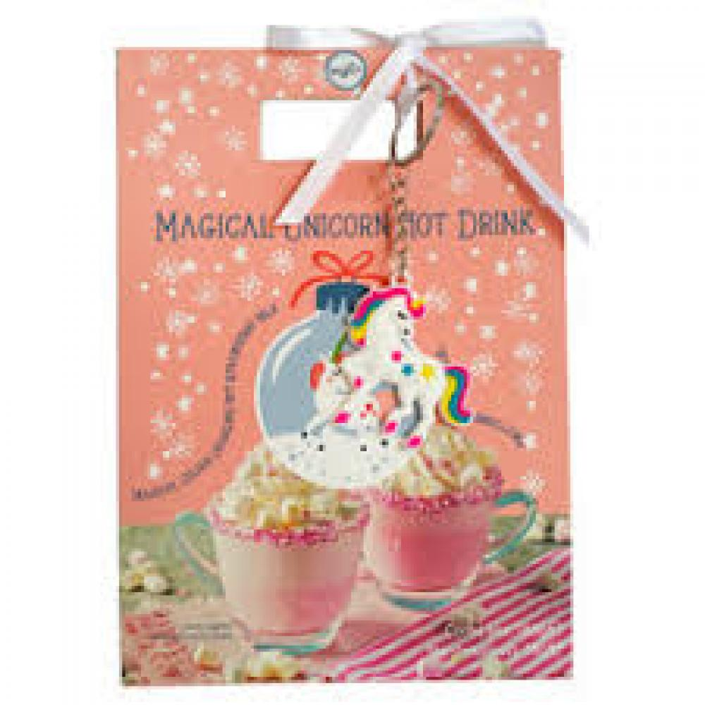 Treat Co Magical Unicorn Hot Drink with Keyring 196g