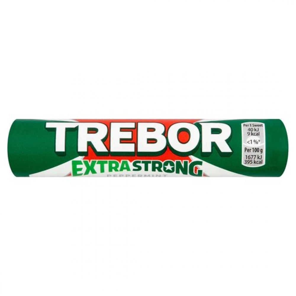 25 UNDER 25  Trebor Extra Strong Peppermint 41.3g