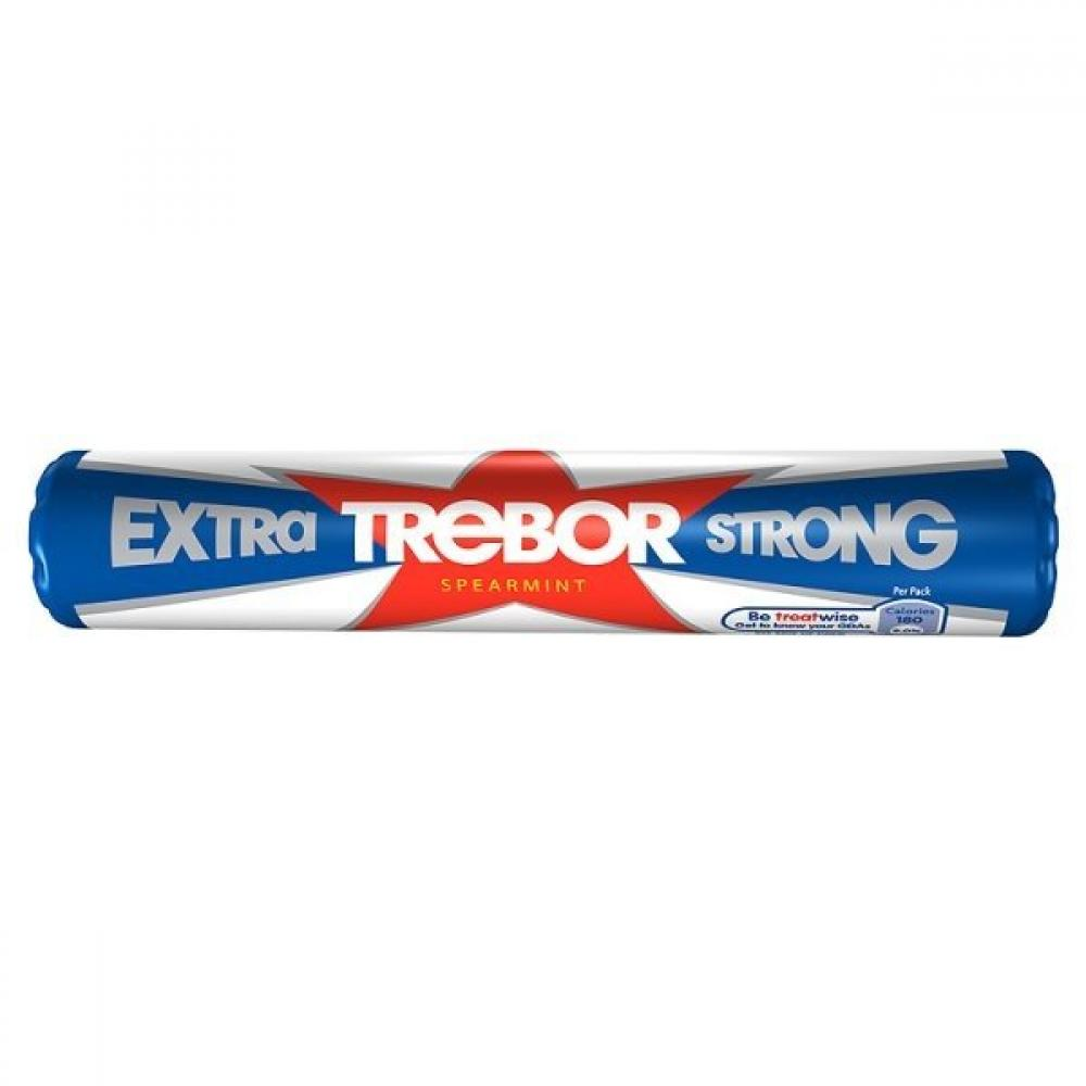 Trebor Extra Strong Spearmint 41.3g