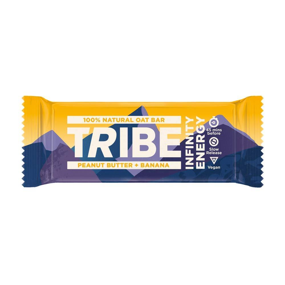 Tribe Nutrition Infinity Natural Vegan Energy Bar Peanut Butter and Banana Flavour 50g