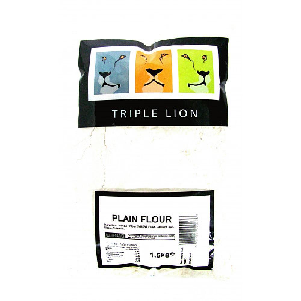 Triple Lion Plain Flour 1.5kg