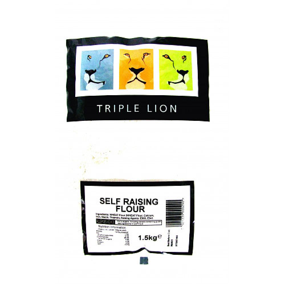 Triple Lion Self Raising Flour 1.5kg