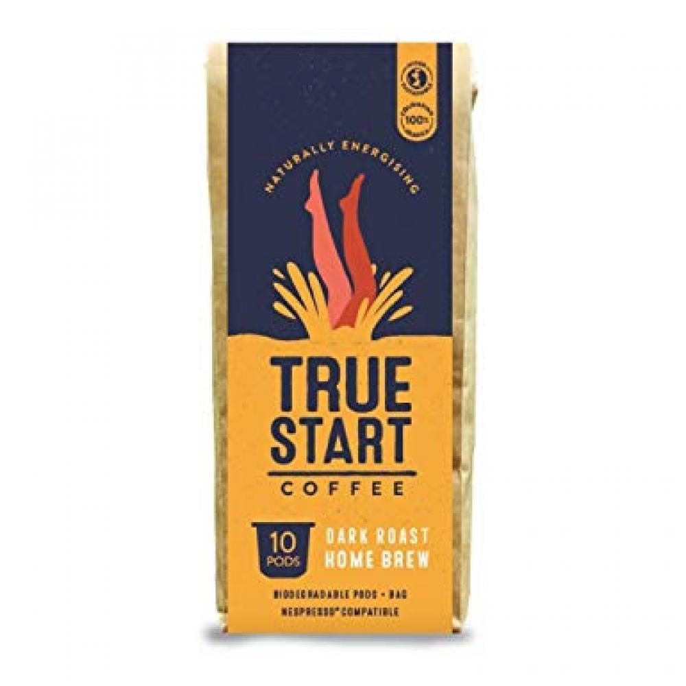 True Start Dark Roast Home Brew 10 Pods