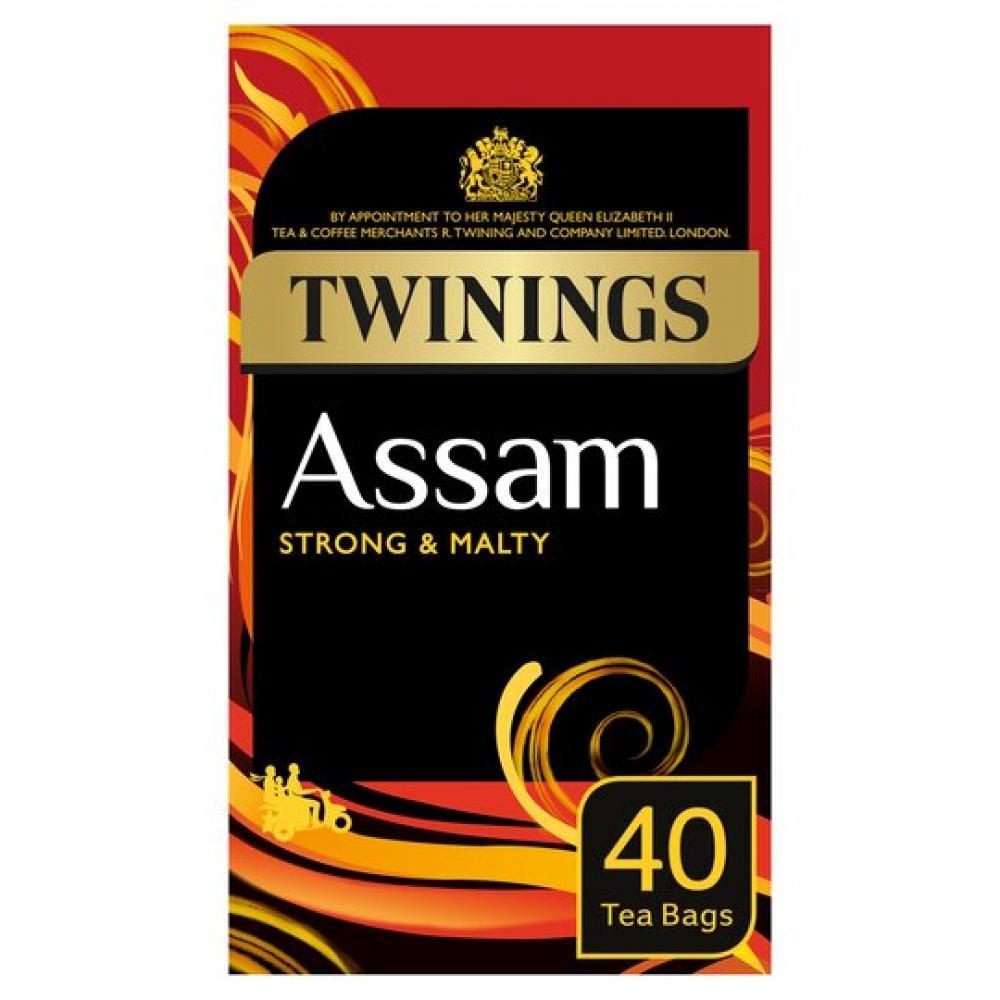 Twinings Assam 40 Tea Bags