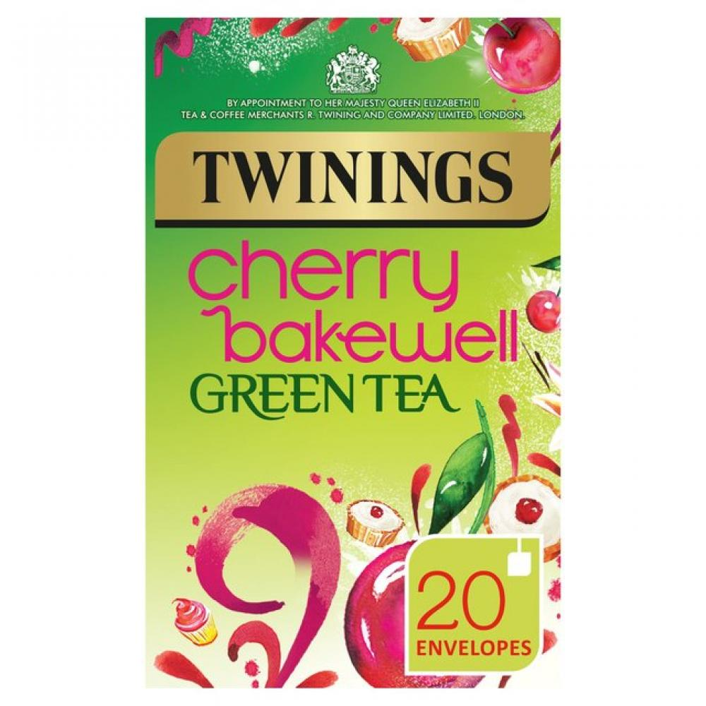 Twinings Cherry Bakewell Green Tea 40 g