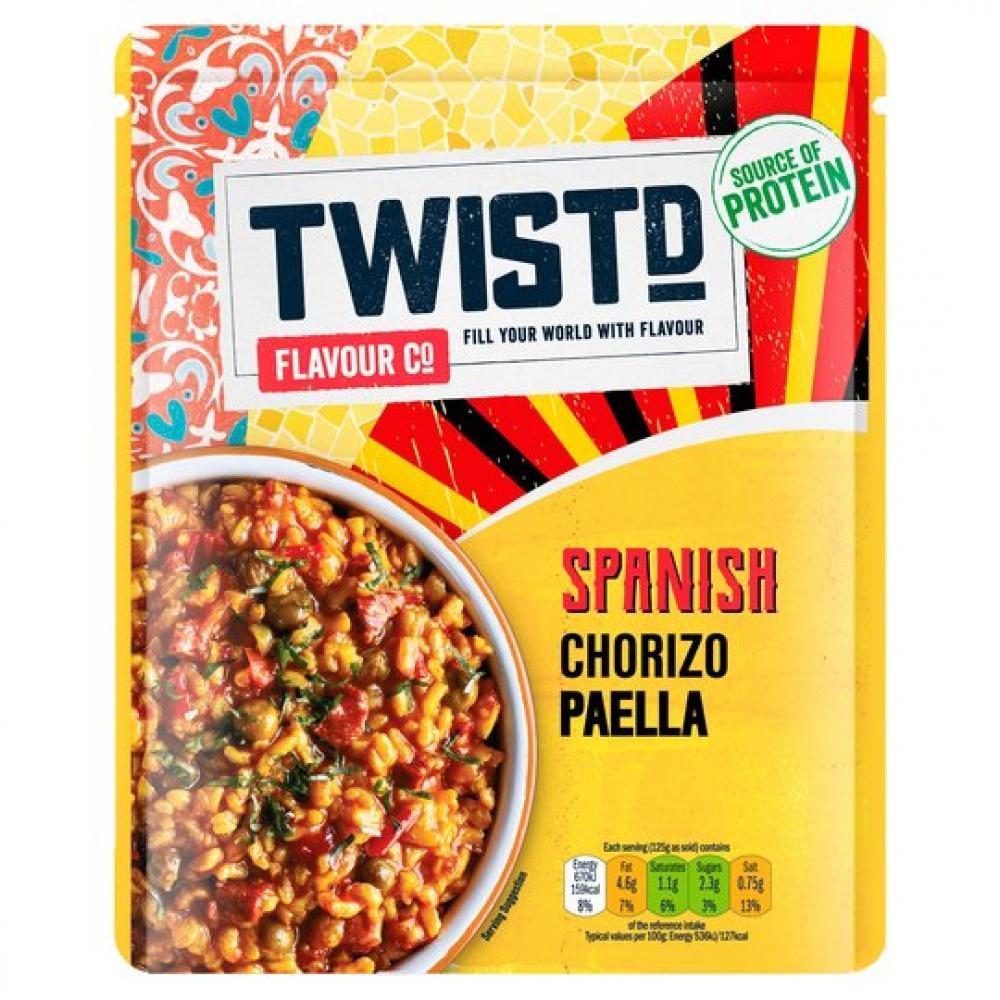 Twistd Spanish Chorizo Paella 250g