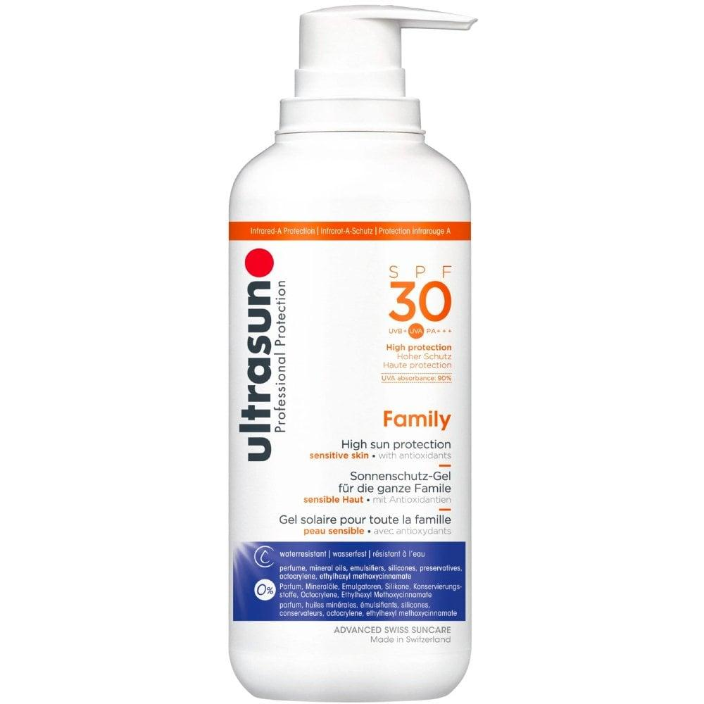 ultrasun Family SPF30 High Sun Protection 400ml