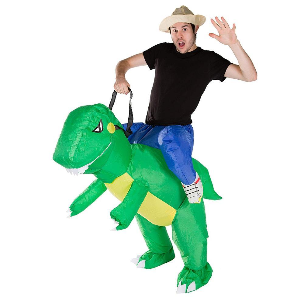 Unbranded Adult Inflatable Dinosaur Costume