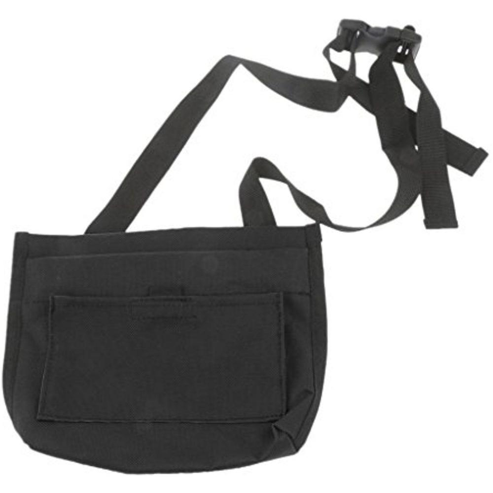 Unbranded Black Dog Treat Bag With Belt