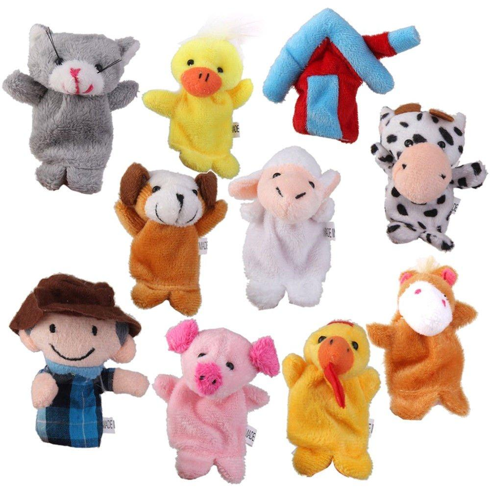 Unbranded Finger Puppets Farm Yard Animals