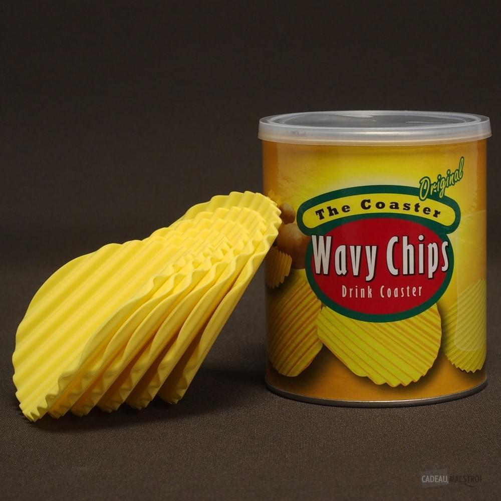 Unbranded The Coasters Wavy Chips