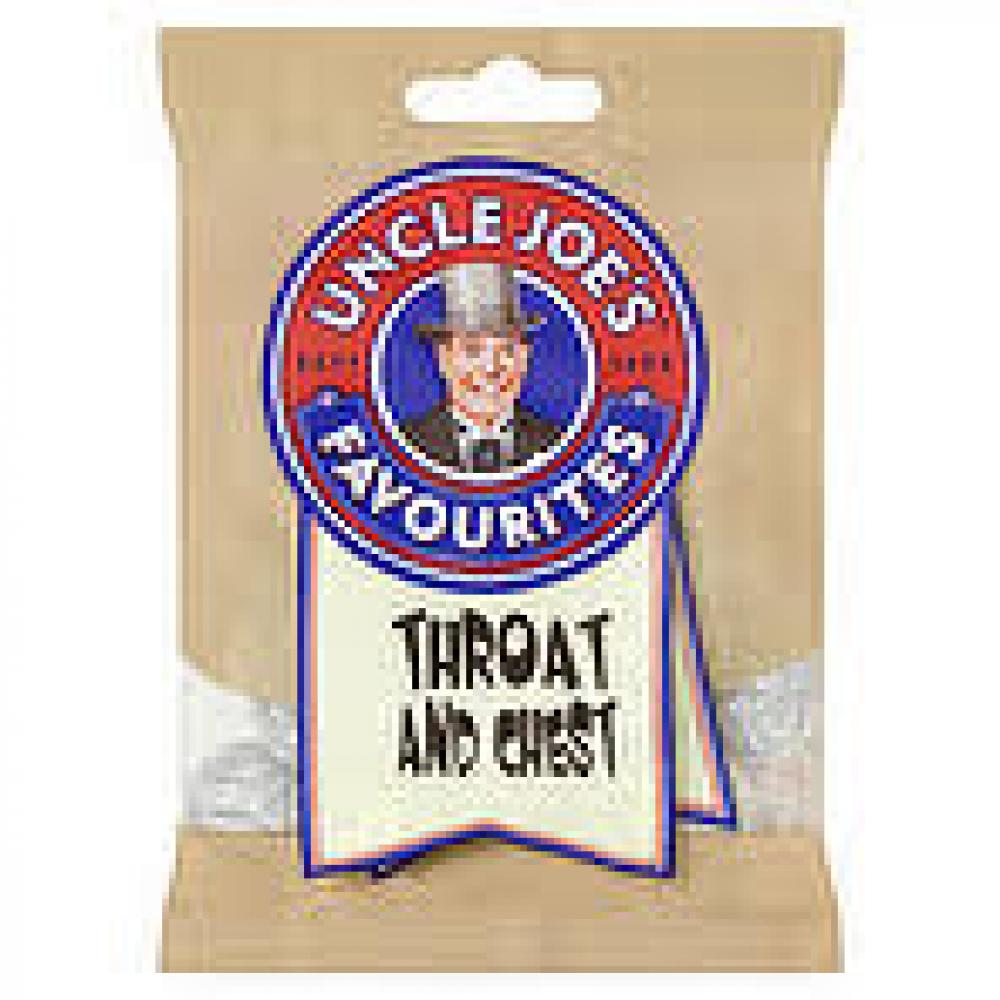Uncle Joes Throat and Chest 108g