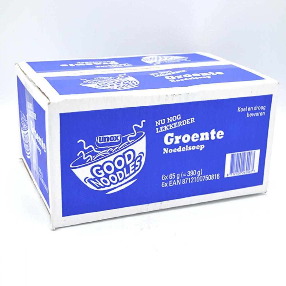 CASE PRICE  Unox Vegetable Noodles 6 x 65g