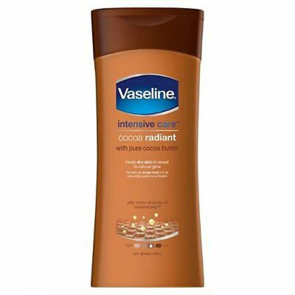 Vaseline Essential Moisture Cocoa Radiant Lotion 200 ml