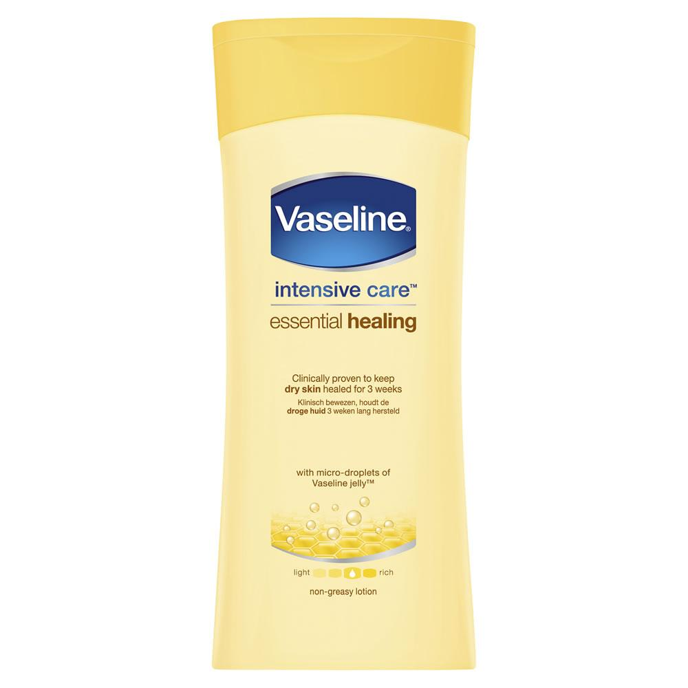 Vaseline Intensive Care Essential Healing Dry Skin Body Lotion 400 ml