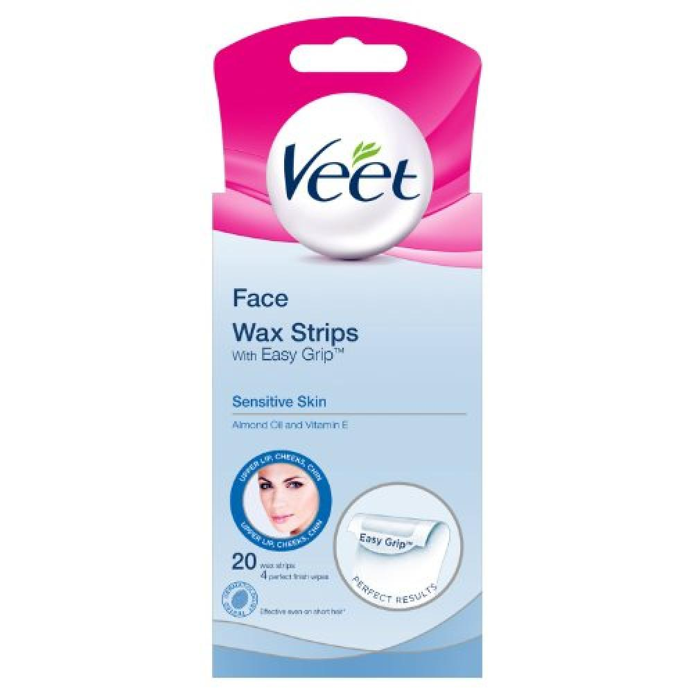 Veet Face Wax Strips Sensitive Skin