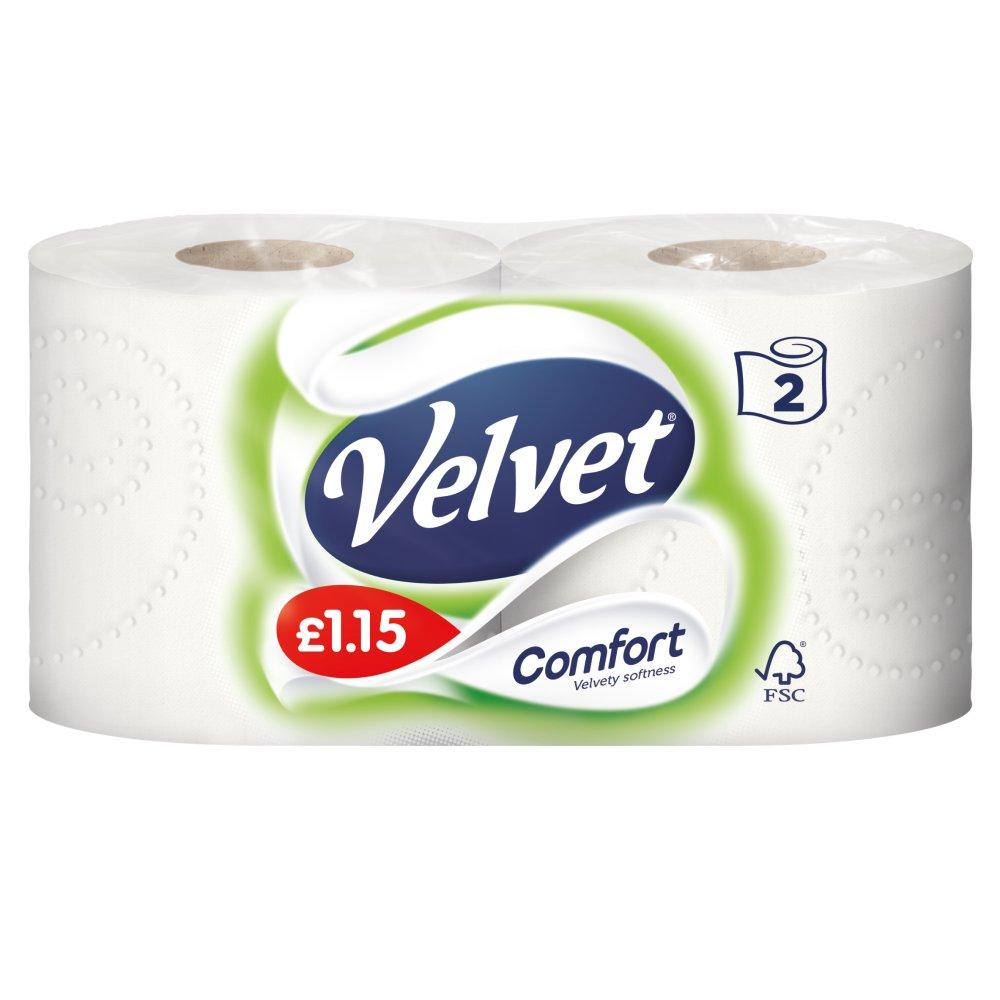 Velvet Comfort 2 rolls
