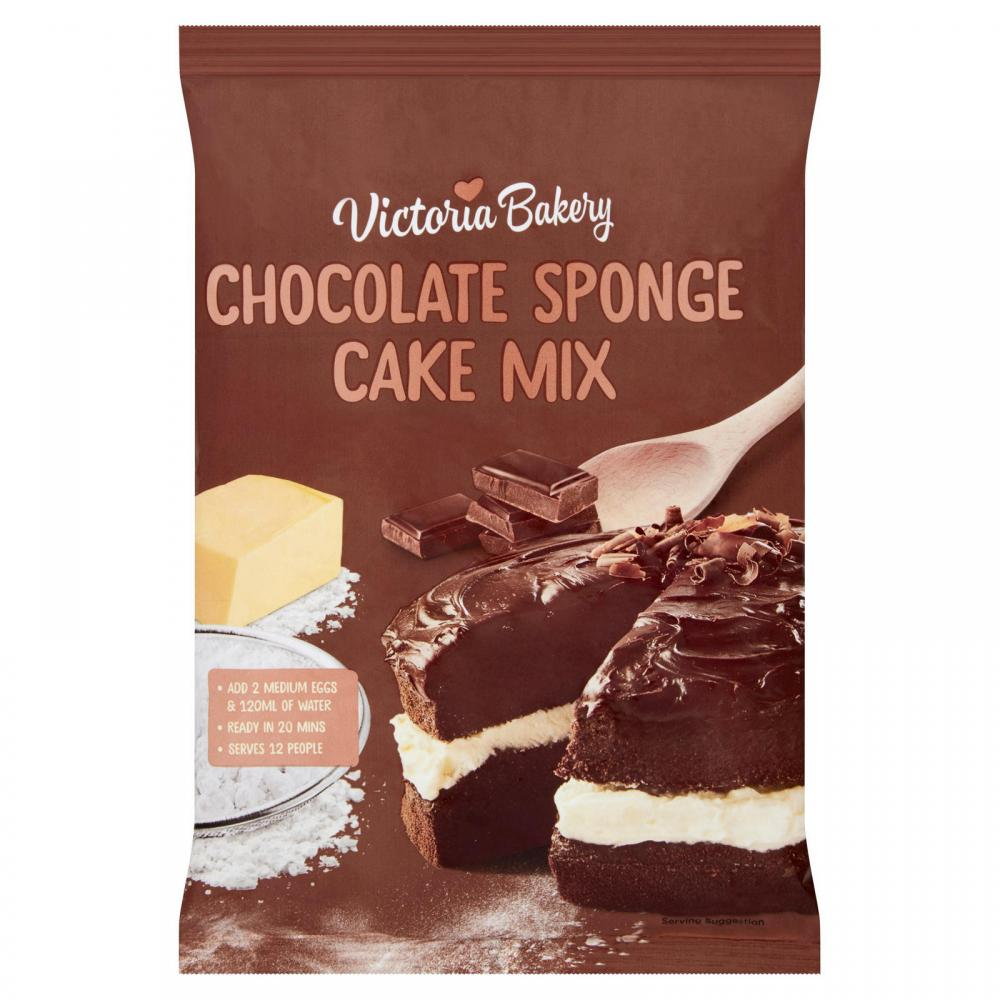 Victoria Bakery Chocolate Sponge Cake Mix 400g
