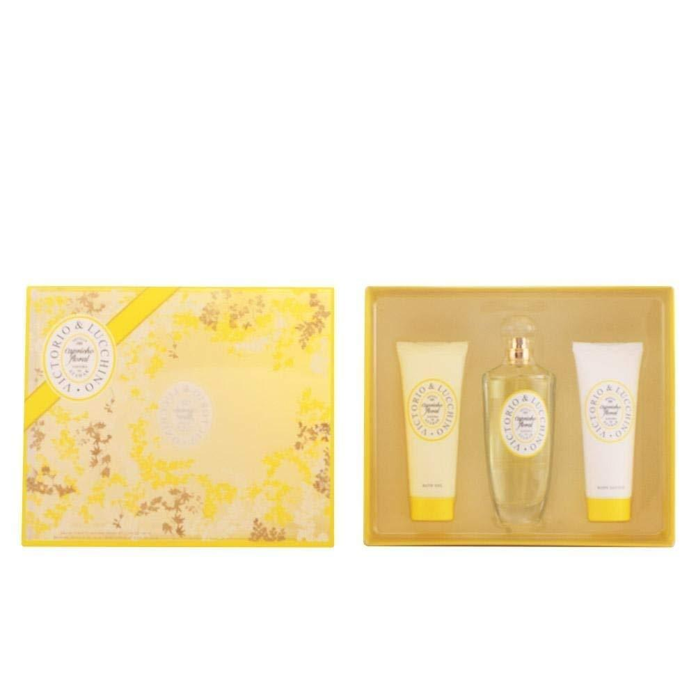 Victorio and Lucchino Capricho Floral Gift Set Damaged Box
